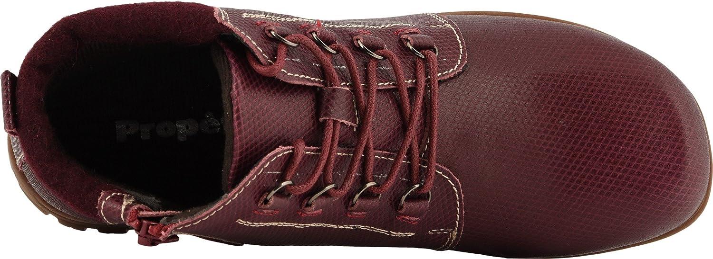 Propet Women's Delaney Ankle Bootie B078Z13LTZ 11 WIDE Wide US|Bordo
