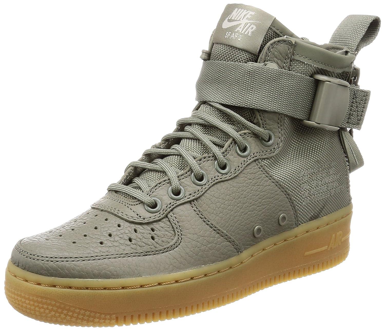 Dark Stucco Dark Stucco-gum Light Brown Nike W SF AF1 MID - AA3966-004