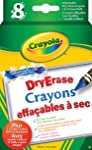 Crayola 8 Dry Erase Crayons, School and Craft Supplies, Gift for Boys and Girls, Kids, Ages 5, 6,7,8 and Up, Arts and...