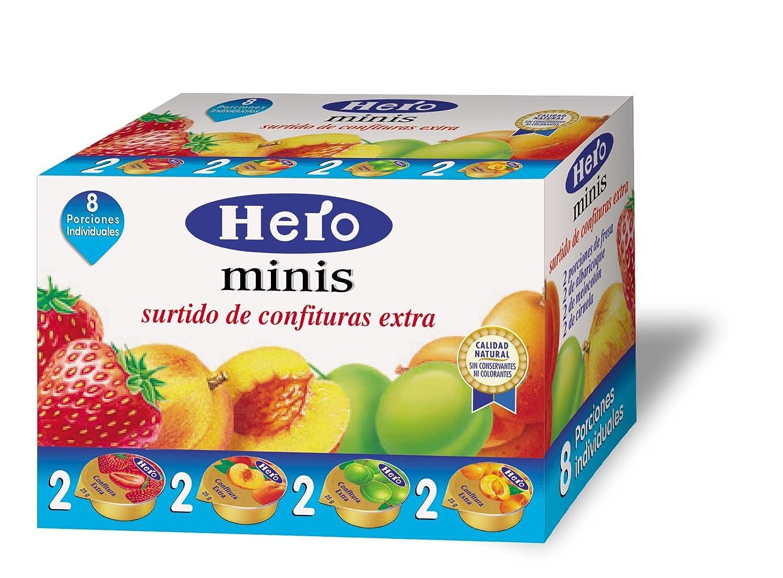 Hero Surtido de Confituras Minis Extra 8 Unidades de 25 g: Amazon ...