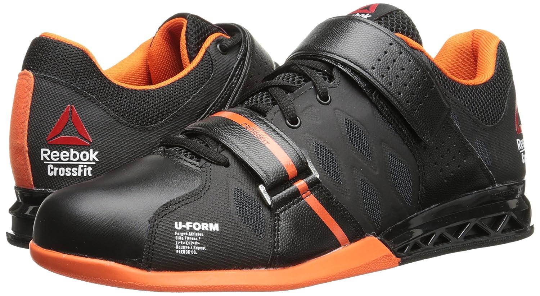 Reebok Men's Crossfit Lifter Plus 2.0 Training Shoe, Black/Flux Orange/White,  7.5 M US: Amazon.in: Shoes & Handbags