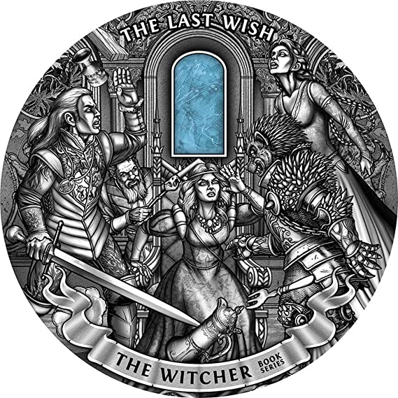 Power Coin The Witcher Bruja Last Wish 1 Kg Moneda Plata 50$ Niue ...