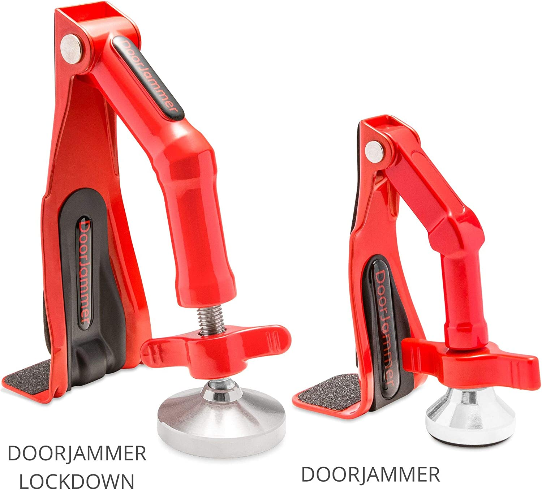 schwer DoorJammer Lockdown Tragbares T/ürschloss f/ür Haussicherheit und pers/önlichen Schutz DJ4LD /– DoorJammer Lockdown