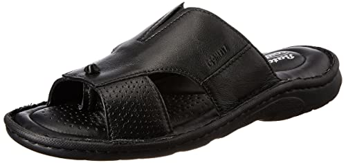 eafb8cc272b5 Image Unavailable. Image not available for. Colour  BATA Men s Sporty Mule Black  Leather Hawaii Thong Sandals ...