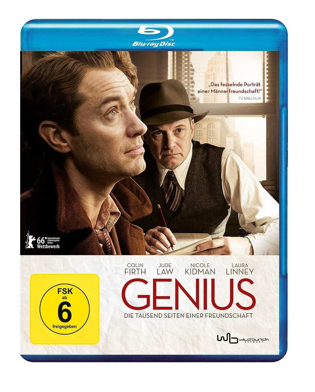 Genius (Die tausend Seiten einer Freundschaft) [Blu-Ray Region B Import - Germany]