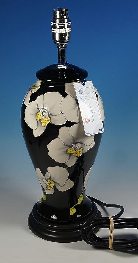 MOORCROFT Pottery Stunning Stylish Moth Orchid Large Table