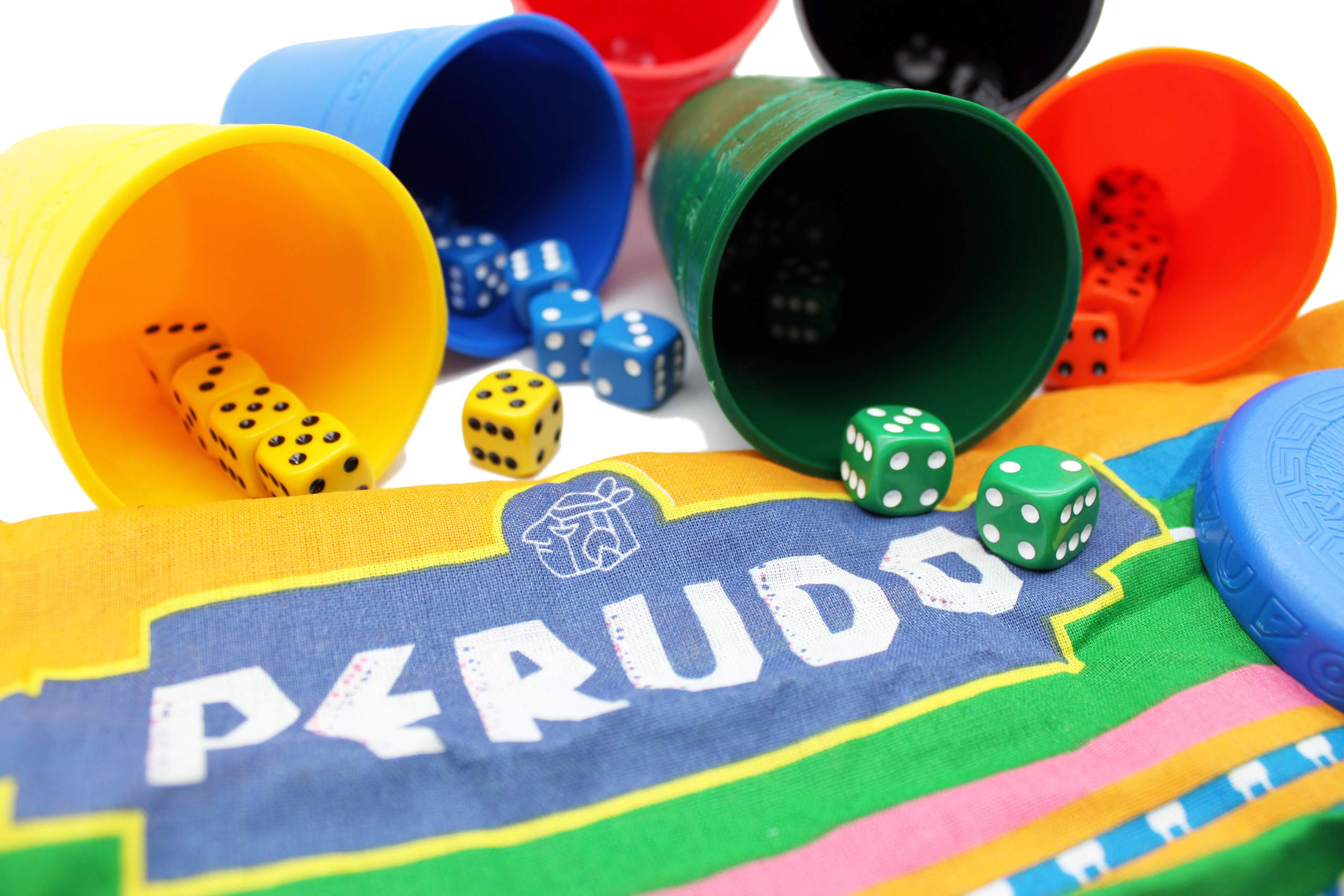 Perudo in a Tin Game by Paul Lamond Games