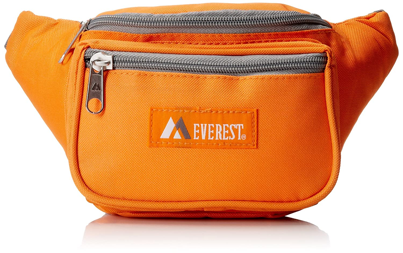 Everest Textur-Bauchtasche - Standard 044KD-NY/GRY
