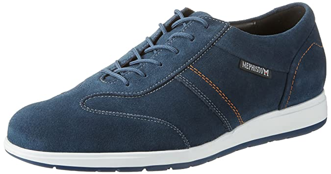 Vincenzo Velsport 3669 Mulberry, Mens Low-Top Sneakers Mephisto