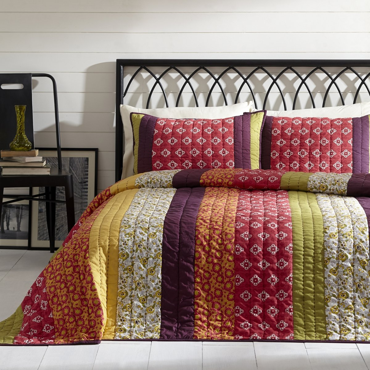 Emma 3 Piece King Quilt Set