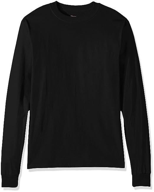 9796531471d3 Amazon.com: Hanes Men's Beefy Long Sleeve Shirt: Clothing