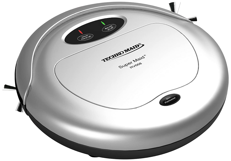 Techko Maid RV668 Super Maid Vacuum, Silver