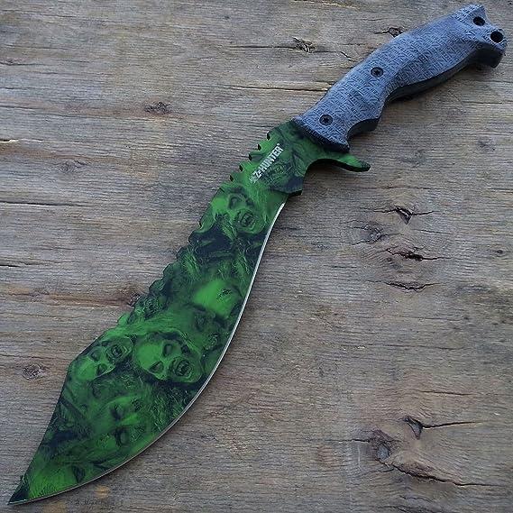 Amazon.com: Z Hunter Kukri Machete - Cuchillo de cuchilla de ...