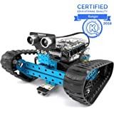 Makeblock mBot Ranger, Programmable Robot Kit for Kids to Learn Coding, 3-in-1 educational robot kit, three forms, Bluetooth Version, Blue, STEAM Education