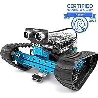 Makeblock mBot Ranger Roboter, Codiertes Spielzeug, 3-in-1-Programmierbarer Robot Bausatz, 3 Formen mit Me Auriga, Bluetooth Version, Programmierbare Roboter Spielzeug, Geschenk für Kinder