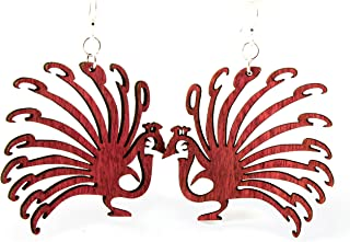 product image for Peacock Earrings