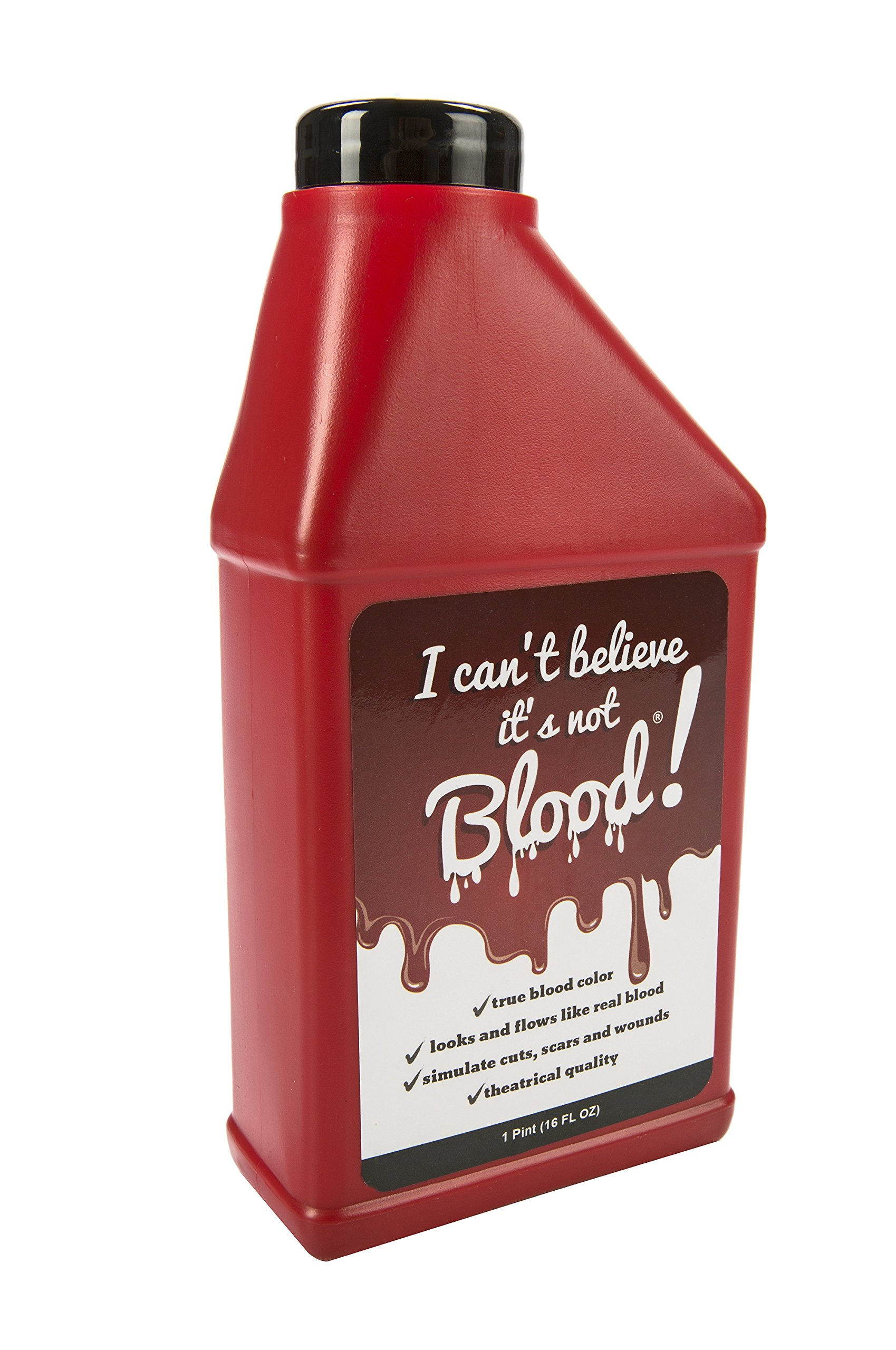 Maven: ''I Can't Believe It's Not Blood'' Fake Blood - 16 oz.