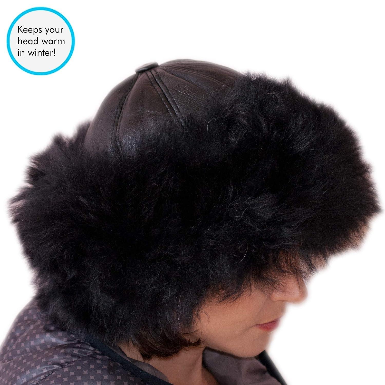 vendite calde design innovativo prezzo ragionevole Dazoriginal Cappello Russo Colbacco Donna Ushanka Pelle Pelliccia ...