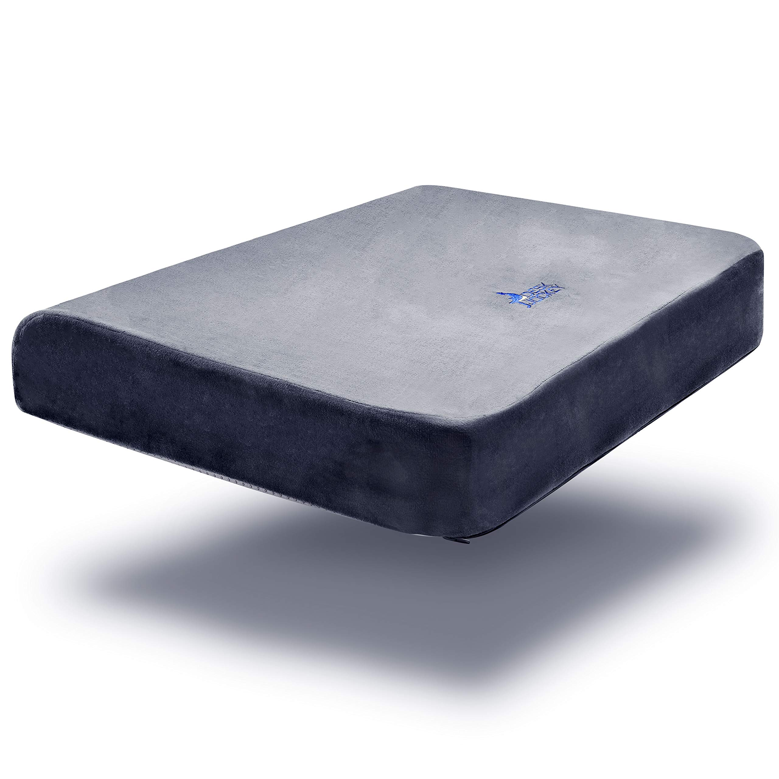 Desk Jockey Seat Cushion for Extra Wide Wheelchairs & Office Chairs - Full 25 Inches Wide - Clinical Therapeutic Grade Orthopedic Sitting Pad - Users 200 to 500lbs by Desk Jockey