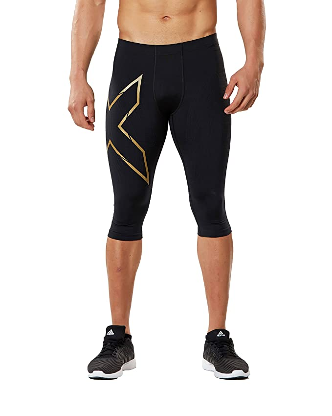 aa8096c0 Amazon.com: 2XU Men's 3/4 MCS Thermal Compression Tights: Clothing