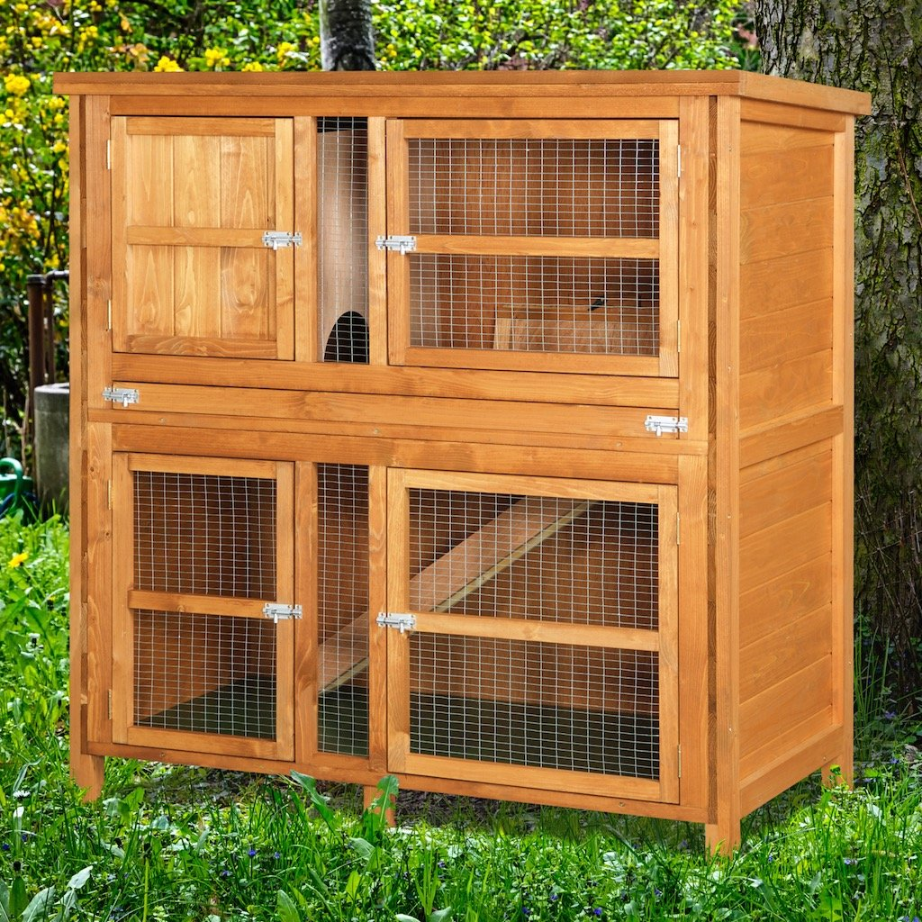hutches by rabbit animal content dsc red hutch and structures pine new shelter constructed white creek