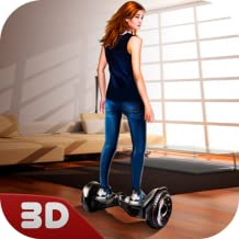 House Riding Hoverboard Simulator: Surfer Driving Device | Home Run Futuristic Car Trendy Game