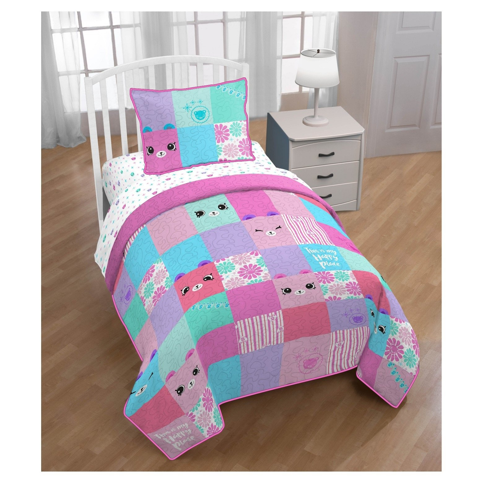 Shopkins Happy Places Quilt & Sham (Twin/Full) by Shopkins