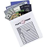 "Fireproof/Fire Resistant Bag 15.5""x11"" Envelope Pouch for Money/Documents/Jewelry/Valuables"