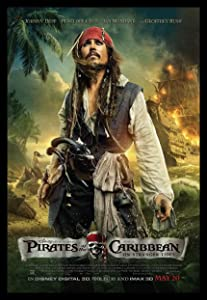 Pirates of The Caribbean Fridge Magnet 6x8 Johnny Depp Movie Poster Magnetic Canvas Print