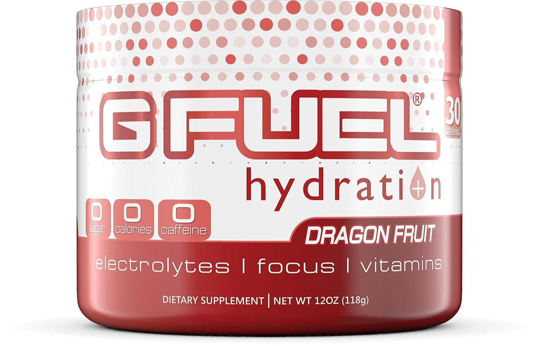 G Fuel Hydration Dragon Fruit Punch Tub (30 Servings) Elite Hydration Formula