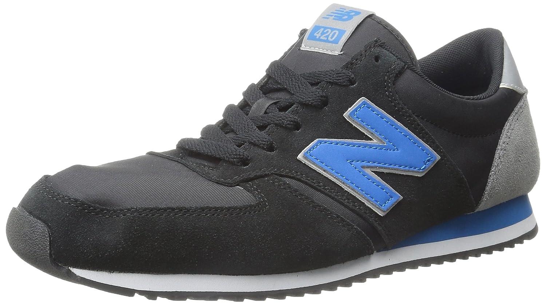 New Balance U420 Lifestyle, Zapatillas Unisex Adulto 40 EU|Negro (Black)