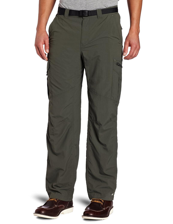 Columbia Men's Silver Ridge Cargo Pant, Gravel, 44x32-Inch
