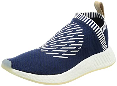 d611447a9 adidas NMD CS2 PK Primeknit Mens Sneakers Shoes-Navy-4