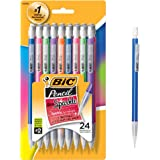BIC Pencil Xtra Sparkle (Colourful barrels), Medium Point (0.7 mm), 24ct