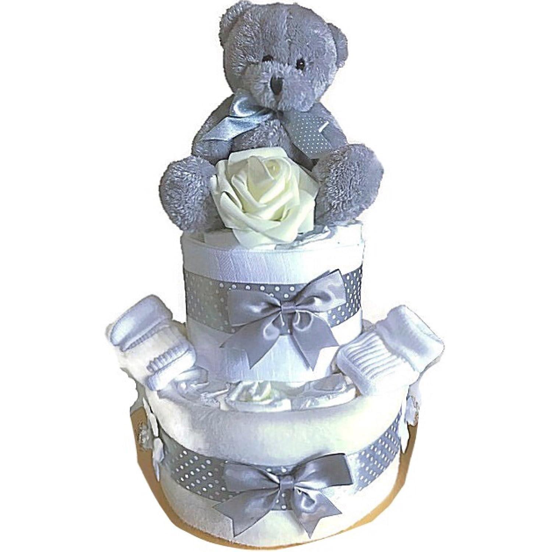 garçons filles Unisexe Cadeau de Baby Shower NEUF Maman Maternité Couche gâteau Angel Kids