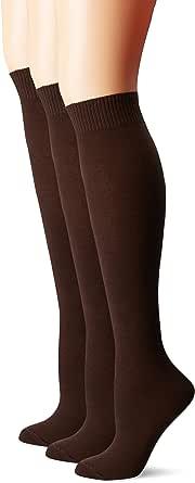 Flat Knit Knee Sock 3 Pair Pack