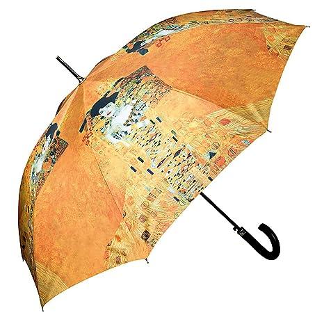 VON LILIENFELD Paraguas mujer moda automática con motivo del arte Gustav Klimt: Adele