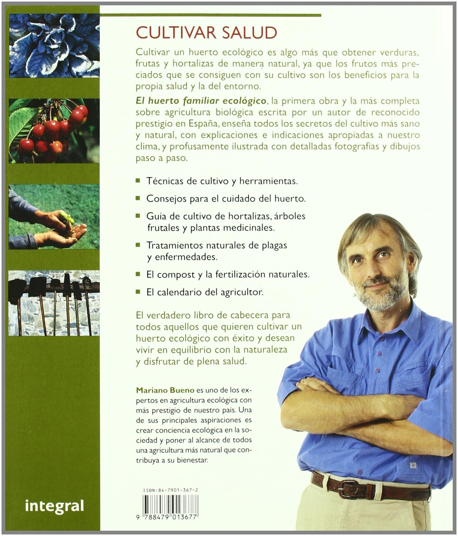 El huerto familiar ecologico: 018 (CULTIVOS): Amazon.es: Bueno ...