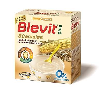 Blevit Plus 8 Cereales para bebé - 600 gr.