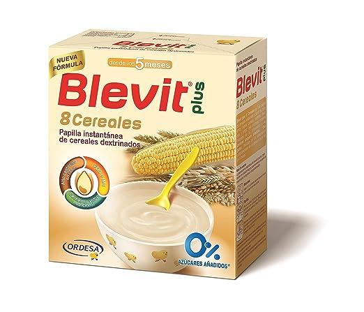Blevit Plus 8 Cereales para bebé - 600 gr.: Amazon.es: Alimentación y bebidas