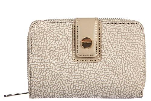 rivenditore all'ingrosso ad0c3 270ff Borbonese portafoglio portamonete donna bifold originale ...