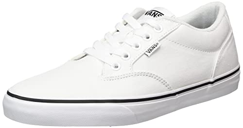 a2538a2a6c Vans Men s Winston Lace-Up Low-top Sneakers White ((Black Foxing)  white white) 9.5 UK  Buy Online at Low Prices in India - Amazon.in