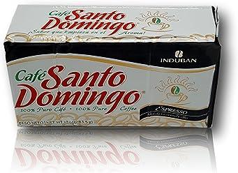 Cafe Santo Domingo Espresso Ground coffee 10 oz Brick