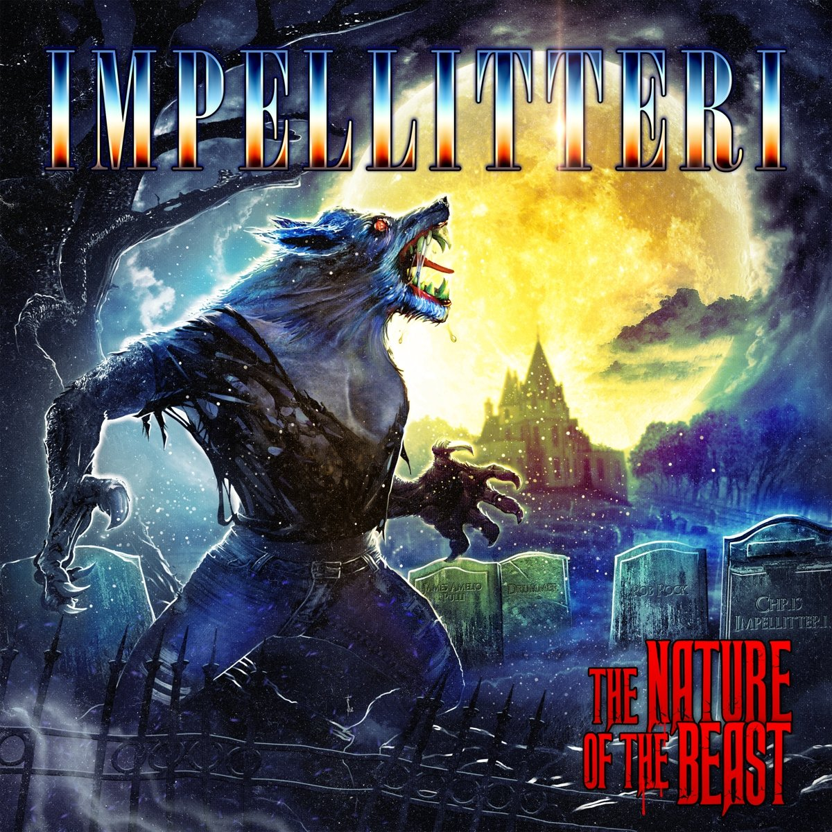 CD : Impellitteri - Nature Of The Beast (CD)