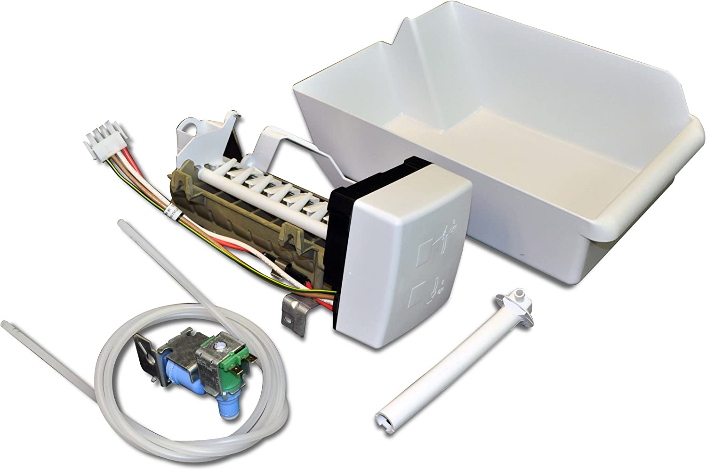 KitchenAid Maytag Whirlpool 4396418 Whirlpool Refrigerator Ice Maker Kit for Whirlpool and Amana