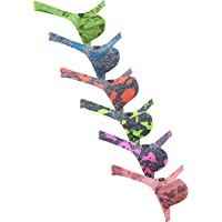 iKingsky Men's Camouflage Thong Underwear Big Pouch T-Back Under Panties Enhance Underwear