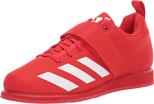 adidas Mens Powerlift 4 Red Size: 18