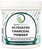 Special Ingredients Activated Charcoal Powder 100g Food Grade Coconut Derived Premium Quality
