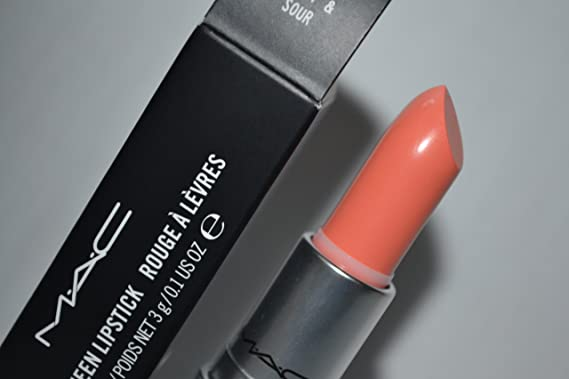 Mac Sweet & Sour lipstick with Mac