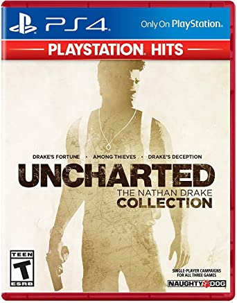 Amazon Com Uncharted Nathan Drake Collection Hits Playstation